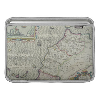 Antique Map of West Africa Sleeve For MacBook Air