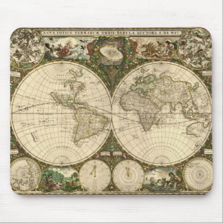 Antique Map Series Mouse Pad