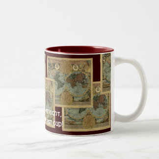 Antique Map Series Two-Tone Mug