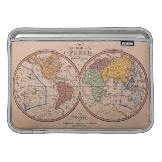 Antique Map Sleeve For MacBook Air