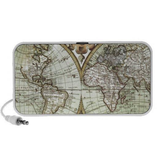 Antique Maps of the World Mini Speaker