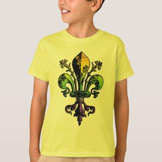 Antique Mardi Gras Fleur T-Shirt