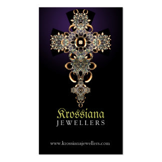 Antique Medieval Jewellery Business Card