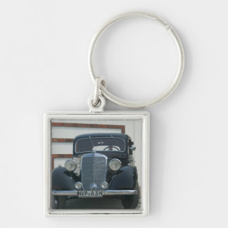antique mercedes key ring
