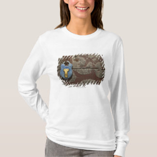 Antique Metal Lock on Stone Wall T-Shirt