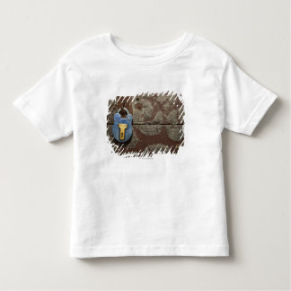 Antique Metal Lock on Stone Wall Toddler T-Shirt