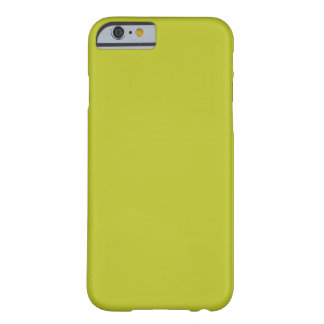Antique Moss Green Yellow 2015 Color Trend Barely There iPhone 6 Case