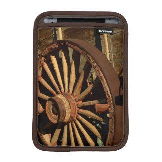 Antique mule train wagon iPad mini sleeve