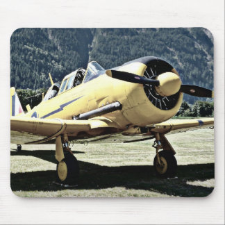 Antique Museum Plane Mouse Mat