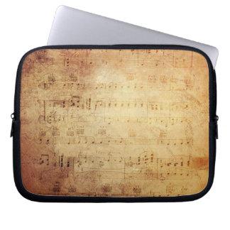 Antique Music Laptop Sleeve