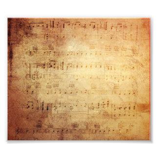Antique Music Photo Print