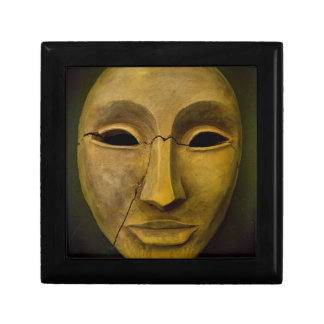 Antique Noh Mask Gift Boxes