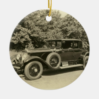Antique Old Car- Ornament