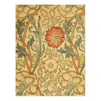 Antique Old Floral Design Post Cards