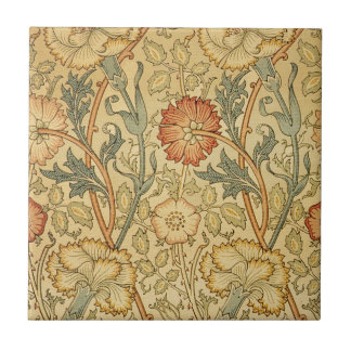 Antique Old Floral Design Tile