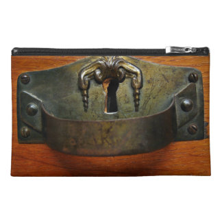 Antique Old Rusty Drawer Handle with a Keyhole Travel Accessories Bags