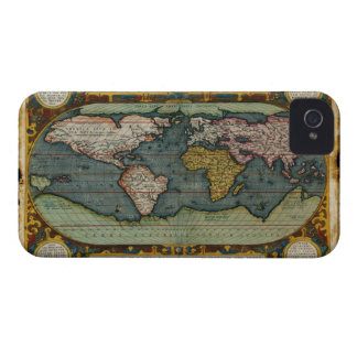 Antique Old World Map Blackberry case