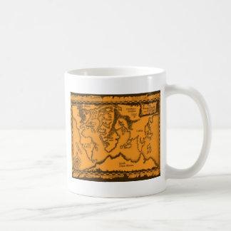 Antique, Old World Map Mugs