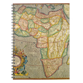 Antique Old World Mercator Map of Africa, 1633 Notebooks