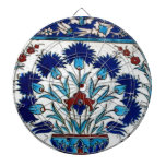 Antique Ottoman  Floral Tile Design Dart Boards