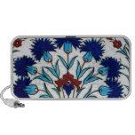 Antique Ottoman  Floral Tile Design iPod Speaker