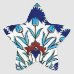 Antique Ottoman  Floral Tile Design Stickers