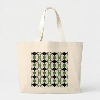 Antique Ottoman Textile Wonderful Design Jumbo Tote Bag