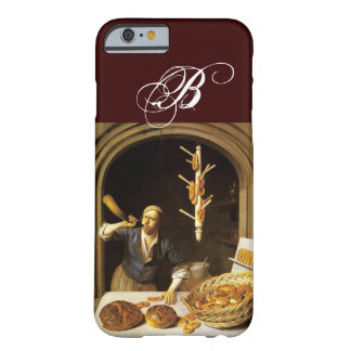 ANTIQUE OVEN  BAKER ,BAKERY BREAD SHOP MONOGRAM BARELY THERE iPhone 6 CASE