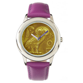 ANTIQUE OWL Gold Yellow Watch