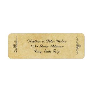 Antique Paper - Address Labels