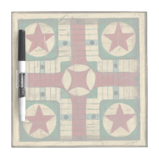 Antique Parcheesi Game Board by Ethan Harper Dry-Erase Whiteboards