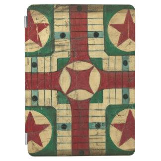 Antique Parcheesi Game Board by Ethan Harper iPad Air Cover
