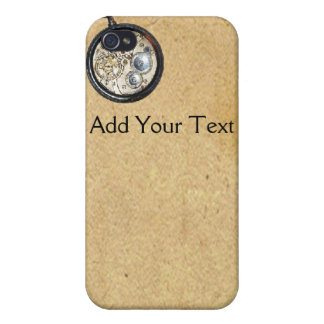 Antique Parchment and Compass Cover For iPhone 4