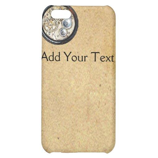 Antique Parchment and Compass Case For iPhone 5C