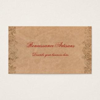 Antique Parchment Business Card