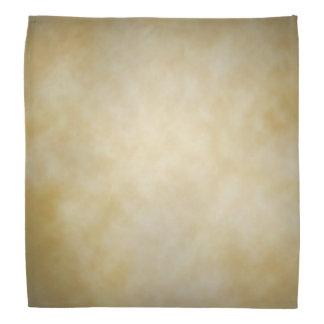 Antique Parchment Vignette Texture Background Bandana