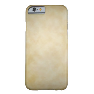 Antique Parchment Vignette Texture Background Barely There iPhone 6 Case
