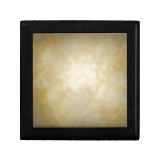Antique Parchment Vignette Texture Background Jewelry Box