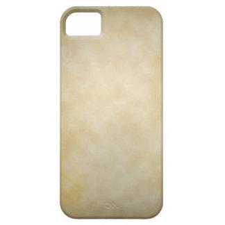 Antique Parchment Vignette Texture Background iPhone 5 Case