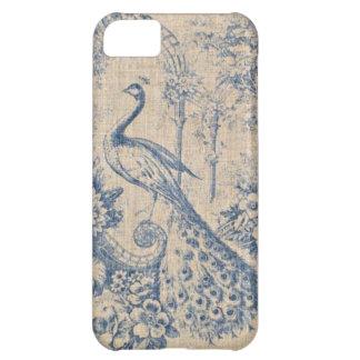 Antique Peacock Toile iPhone 5C Cover