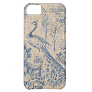 Antique Peacock Toile iPhone 5C Case