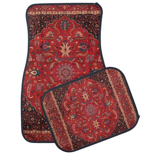 Antique Persian Mashhad Rug