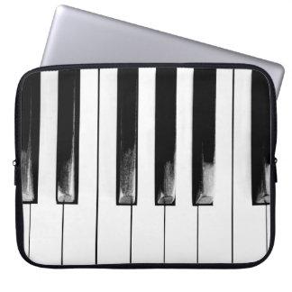 Antique Piano Keys Laptop Sleeve