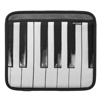 Antique Piano Keys Sleeve For iPads
