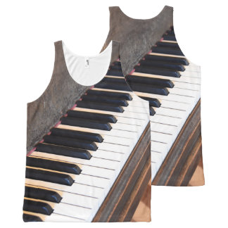 Antique Piano Tank Top