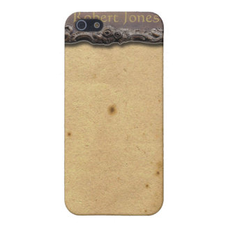 Antique Plaque on Parchment look iPhone4 Cover iPhone 5/5S Cover