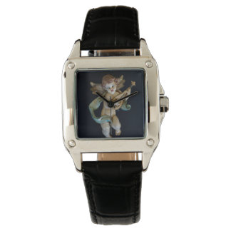 Antique Porcelain Angel Watch