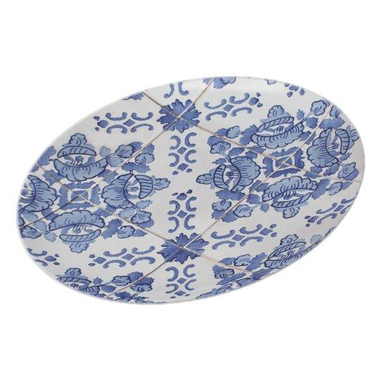 Antique Portuguese Tile Plate