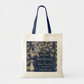 Antique Pride & Prejudice Tote Bag