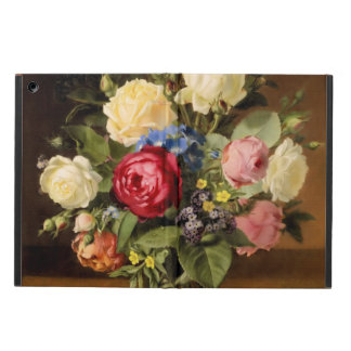 """Antique Print """"Victorian Roses"""" iPad Hard Cover Cover For iPad Air"""